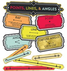 Points,Lines And Angles Mini Bulletin Board Set