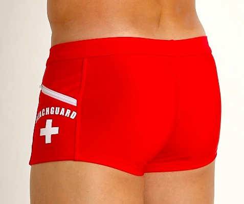 Lifeguard Swim Trunk