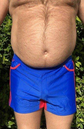 Sporty Short - Pocket with Stripe