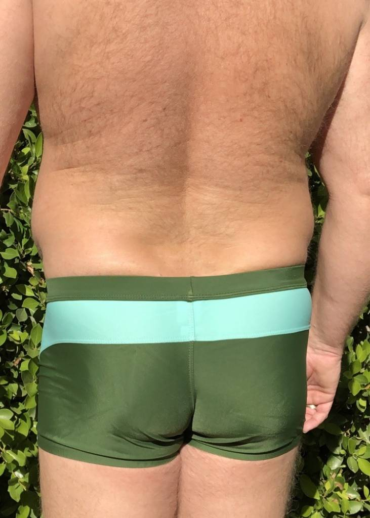 Enhancing Pouch Swim - Army Green