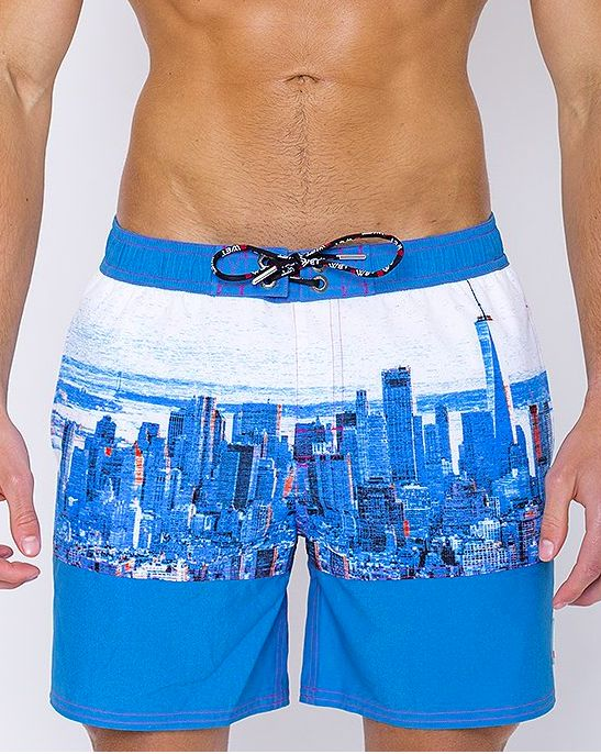 Swim Shorts Turquoise - NYC