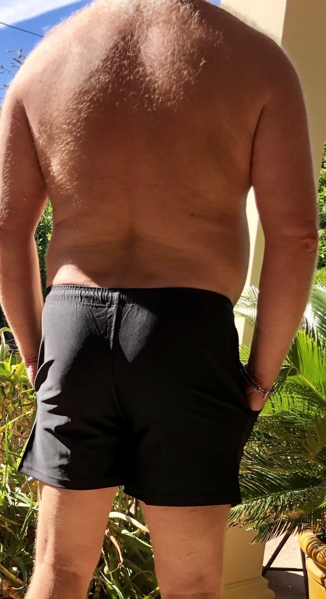 New - Pocket Bear Paw Swim/Lounge Short
