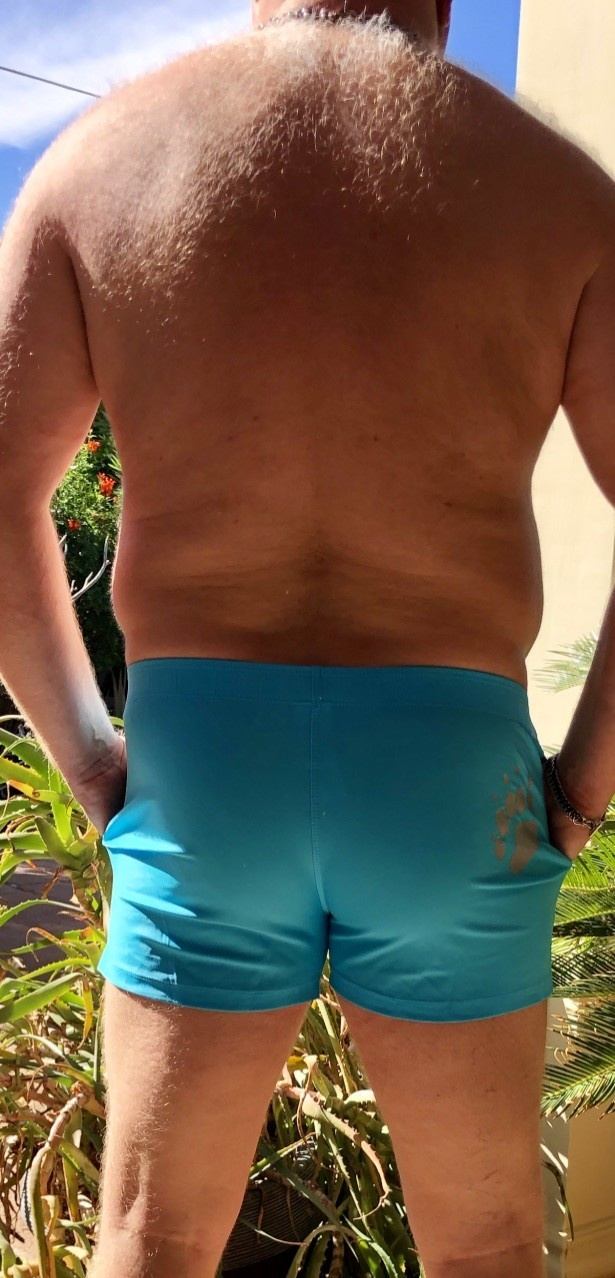 Classic Cut Paw Pocket - Turquoise