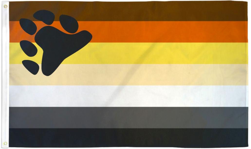 Pride Flags 3 x 5 Feet Bear