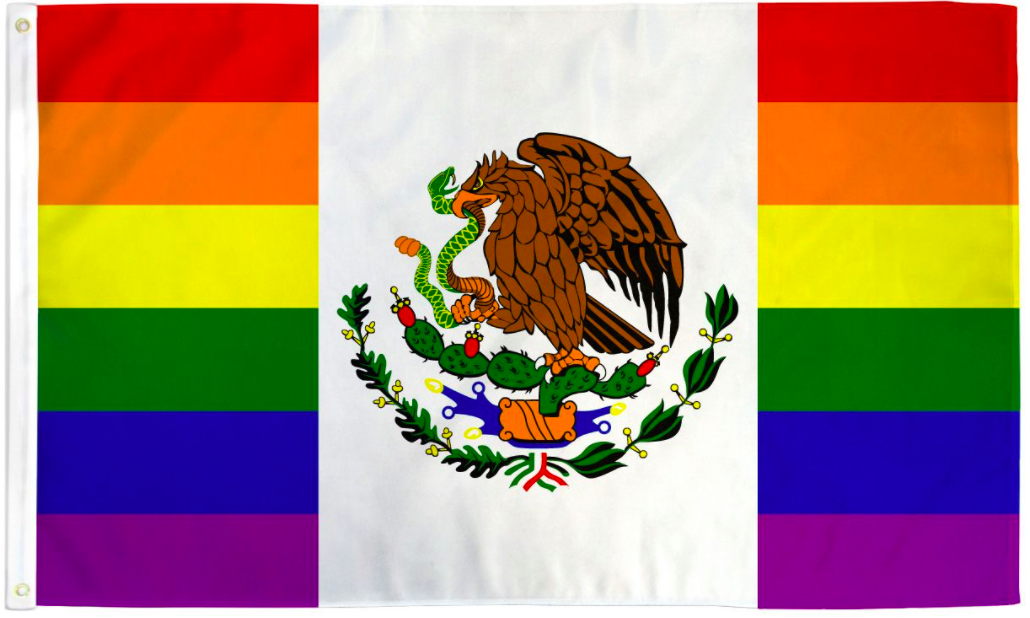 Pride Flags 3 x 5 Feet Mexico