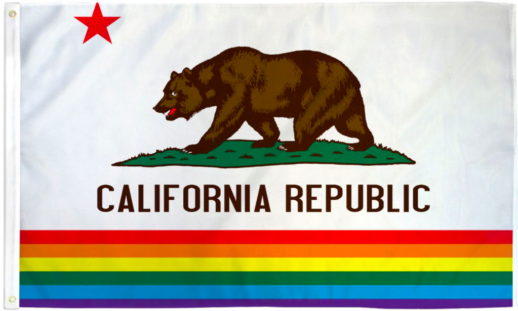 Pride Flags 3 x 5 Feet California
