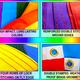 Pride Flags 3 x 5 Feet California