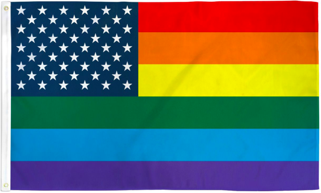 Pride Flags 3 x 5 Feet USA - Rainbow