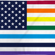 Pride Flags 3 x 5 Feet USA - Multicolor