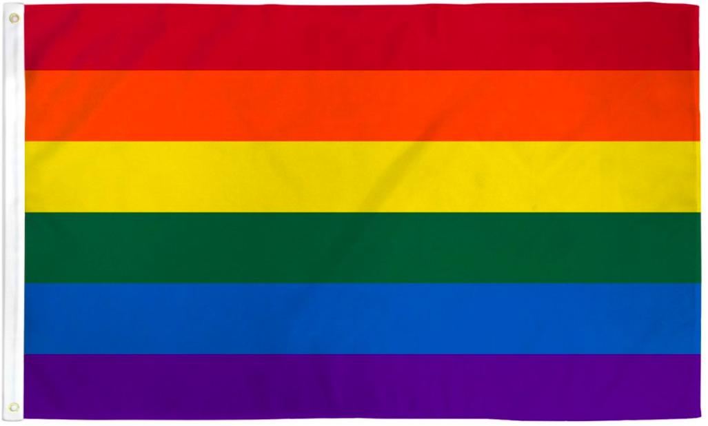 Pride Flags 2 x 3 Feet Rainbow
