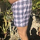 Plaid Pocket Tie Short