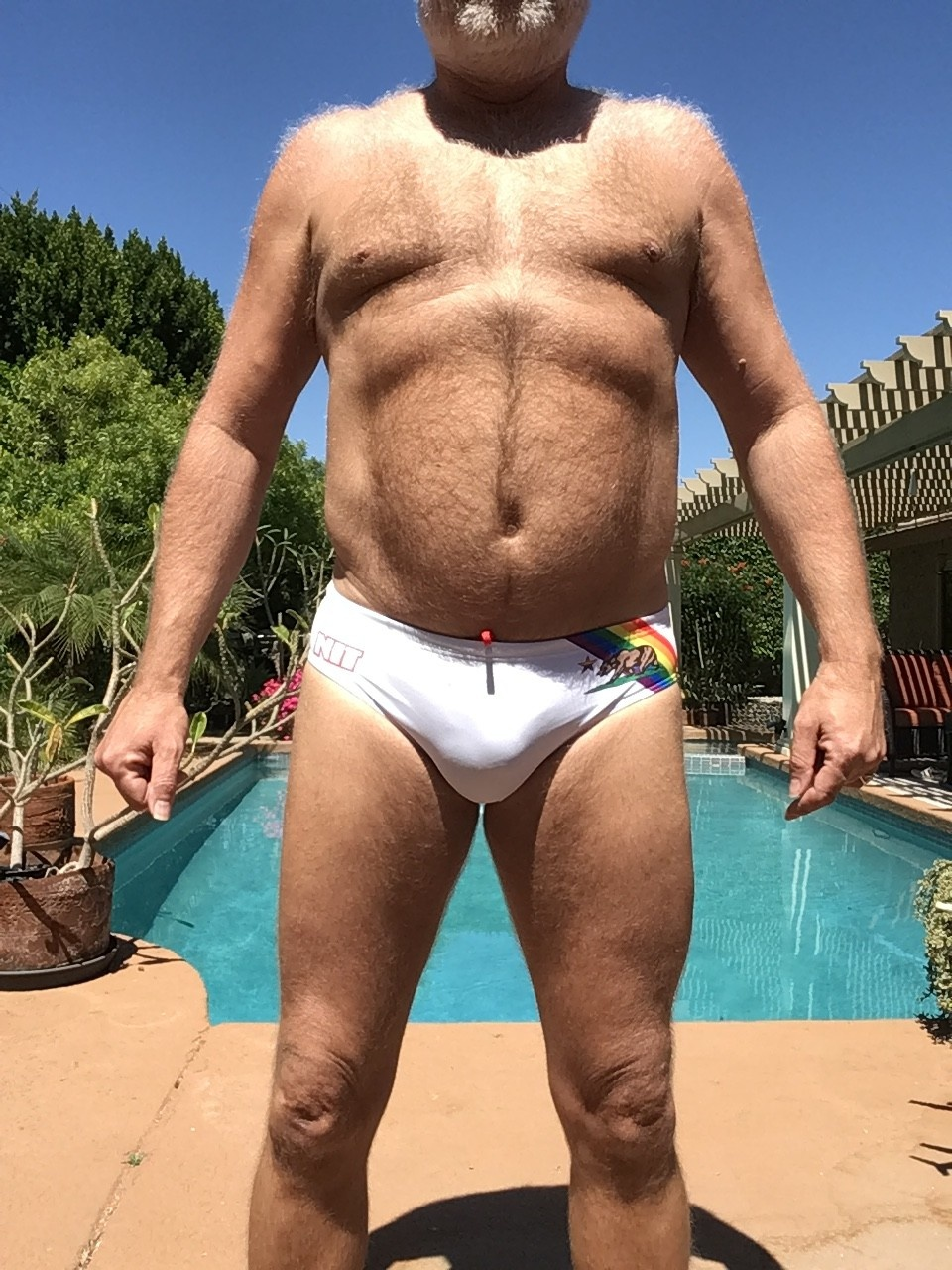 "California Gay Pride Flag ""Speedo"", Cup"