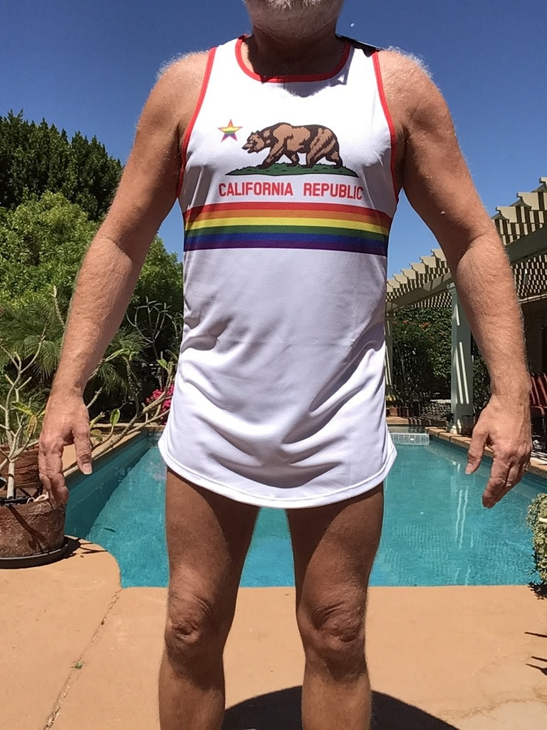 California Gay Pride Tank Top