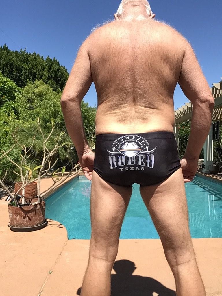 Texas Pride Swim Sunga