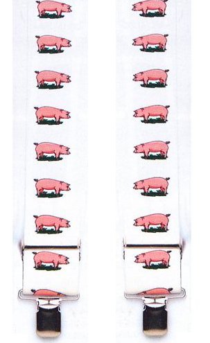 Elastic Suspenders - Piggies