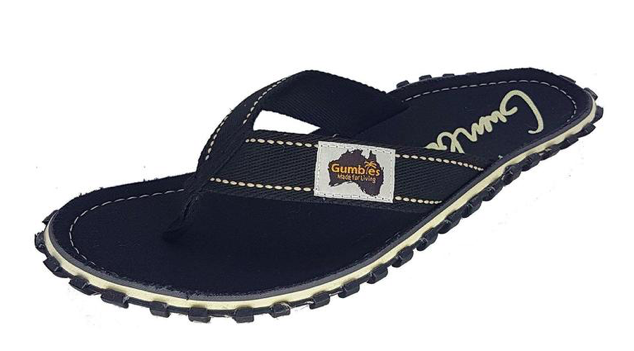 Gumbies Islander Canvas Flip-Flops, Black