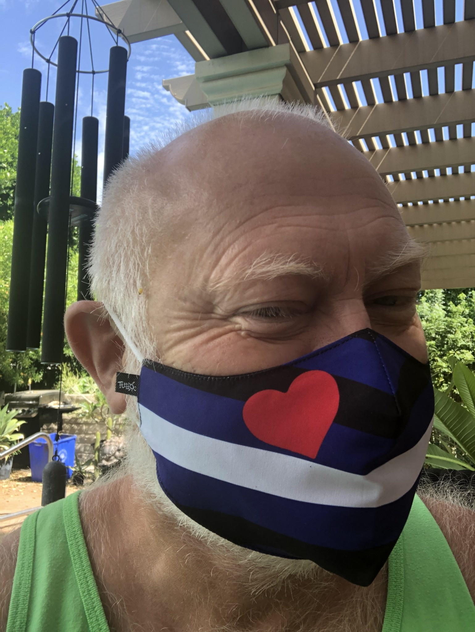 Face Mask, Which one is you? Leather Pride