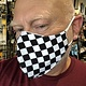 Face Mask, Which one is you? Checker Flag
