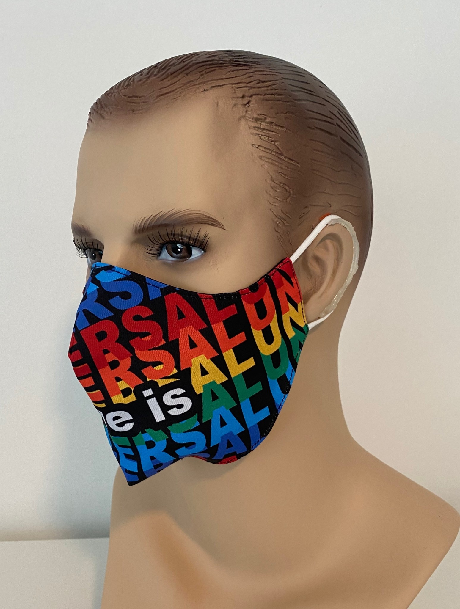 Face Mask, Which one is you? Love is Universal