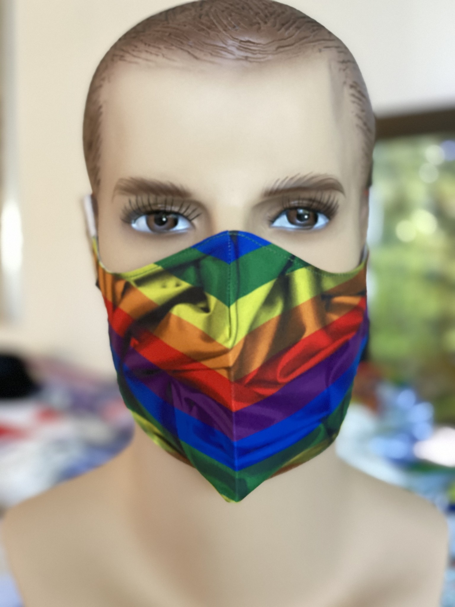 Face Mask, Which one is you?  Pride Flag