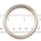 """Jim Diamond Seamless Metal Ring - 1 3/4"""""""