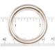 """Jim Diamond Seamless Metal Ring - 1 1/4"""""""