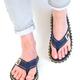 Gumbies Islander Canvas Flip-Flops, Dark Denim