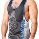 Nasty Pig Mascot Singlet, Blue