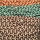 3D Weave Swim Flat Front Short - Orange