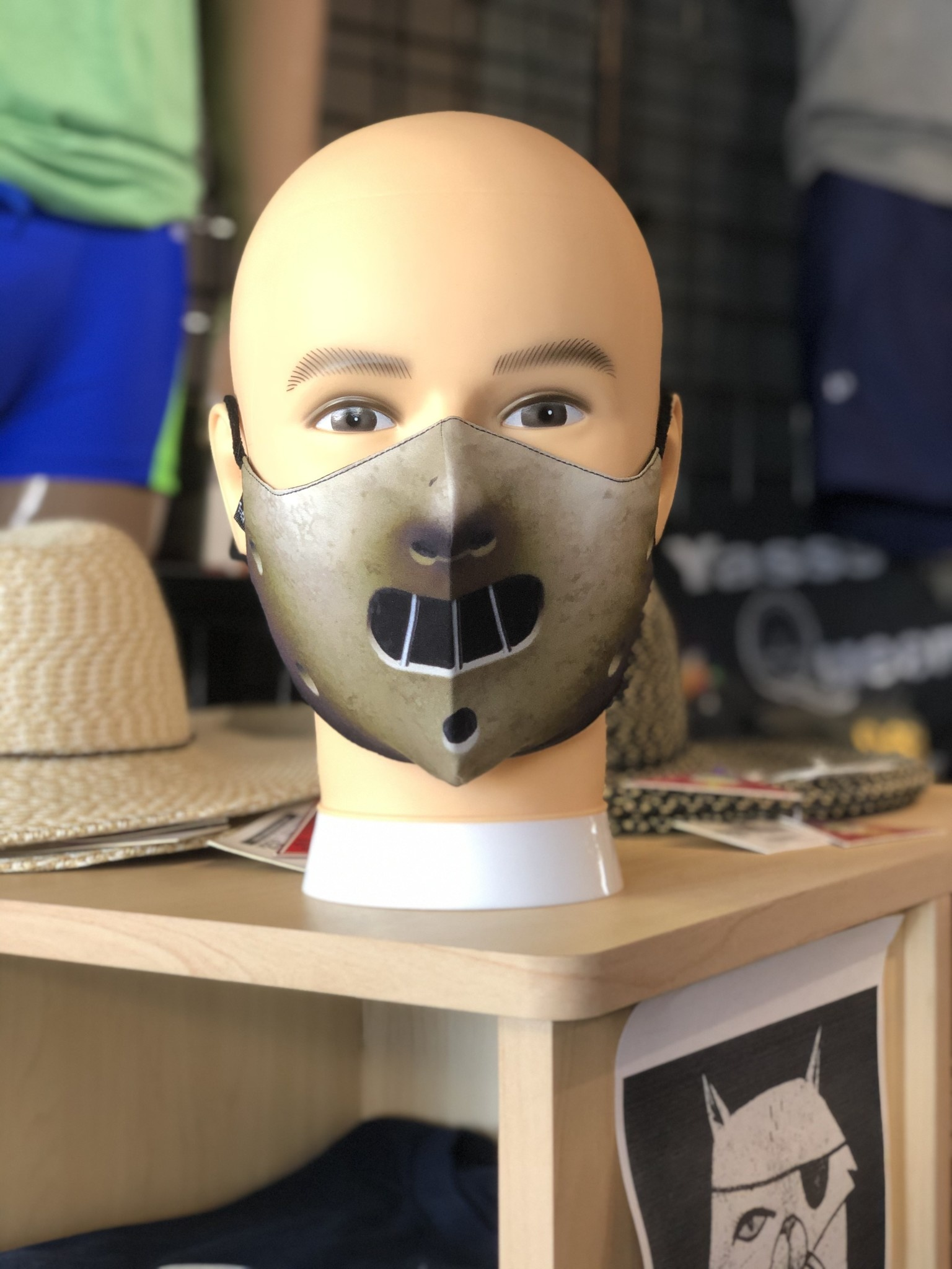 Face Mask, Which one is you?  Hannibal Mask