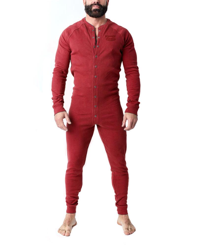 Union Suit, Red