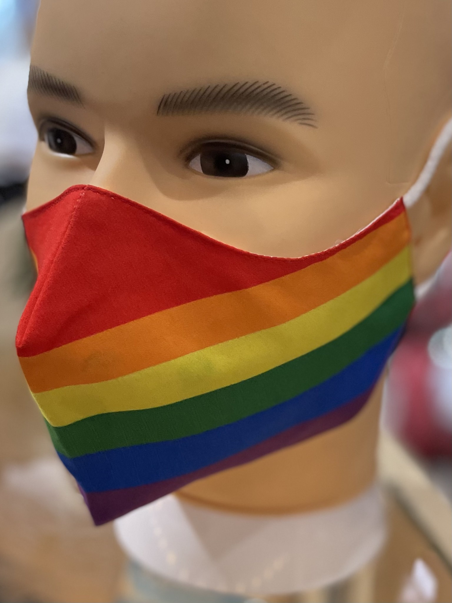 Face Mask, Which one is you? Progressive Pride