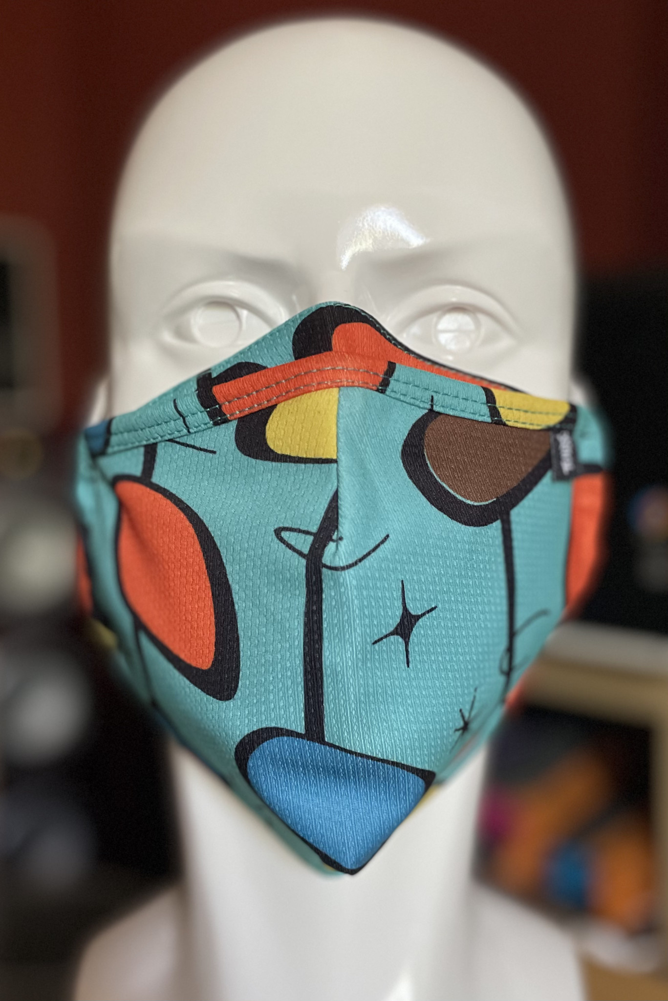 XL Face Mask, Bigger bear sized. Mid Century