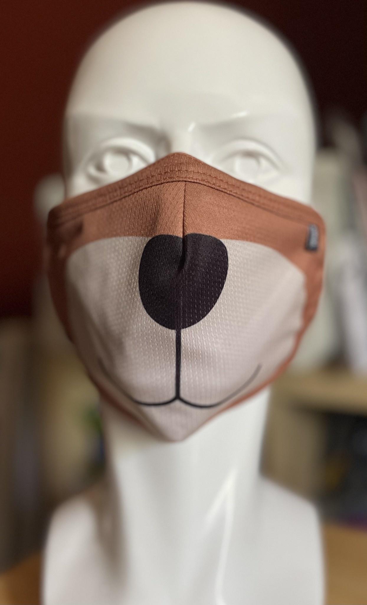 XL Face Mask, Bigger bear sized. Bear Faced