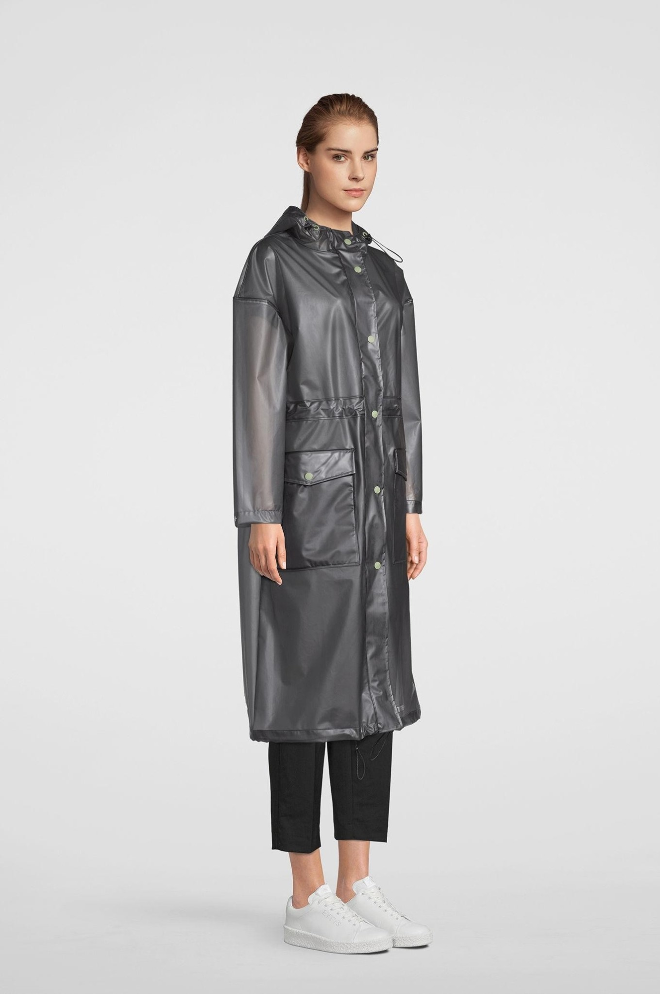 b05036048 Ranarp Semi-Transparent Raincoat