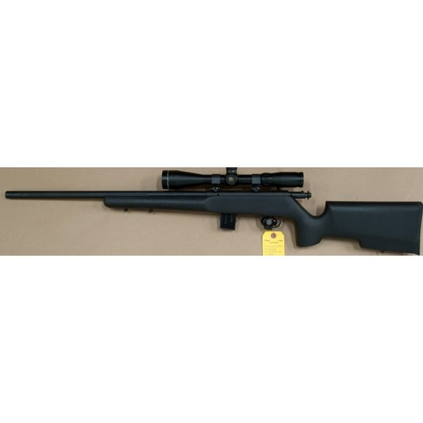93R17 TR 17HMR BLUED HB/TACTICAL STOCK