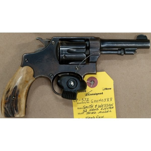 32 HAND EJECTOR THIRD MODEL REVOLVER 6 SHOT