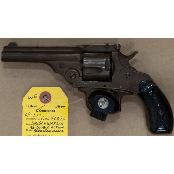38 DOUBLE ACTION PERFECTED MODEL REVOLVER 5 SHOT