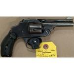 38 SAFETY HAMMERLESS THIRD MODEL REVOLVER 5 SHOT