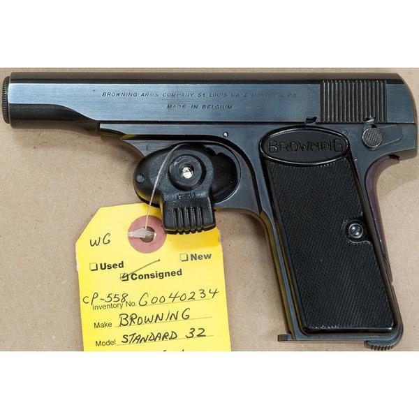 BROWNING 32 STANDARD SEMI AUTO PISTOL 7 SHOT