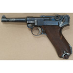 PROHIBITED LUGER P08 DATED S 9MM SEMI AUTO PISTOL W/HOLSTER