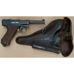 LUGER LUGER P08 DATED S 9MM SEMI AUTO PISTOL W/HOLSTER