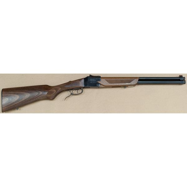 """DOUBLE BADGER 22LR/20GA X 3"""" COMBINATION GUN"""