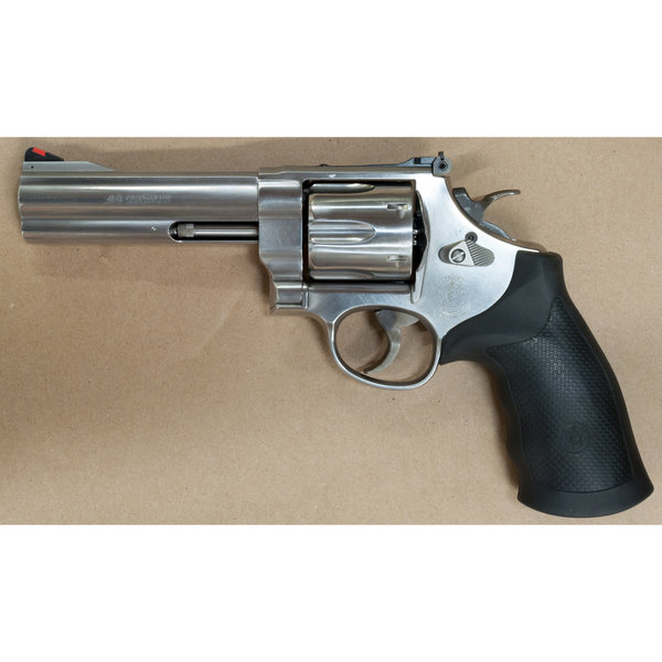 """SMITH & WESSON 629 44MAG STAINLESS 5"""" REVOLVER"""