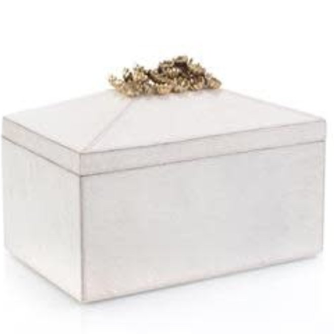 Festooned In Stones Box With Celestite Cayen Home