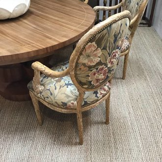 Antiques Set Of 6 Tree Branch Chairs