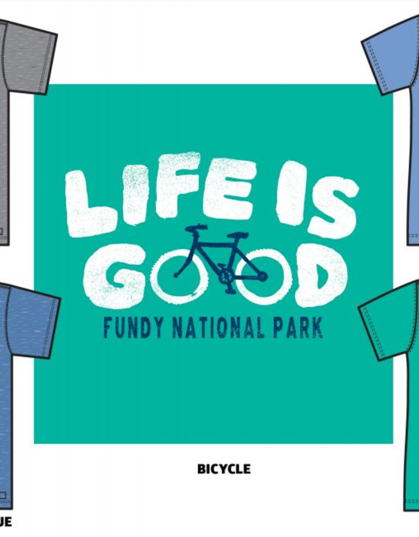 Life is Good Life is Good W Fundy Bicycle