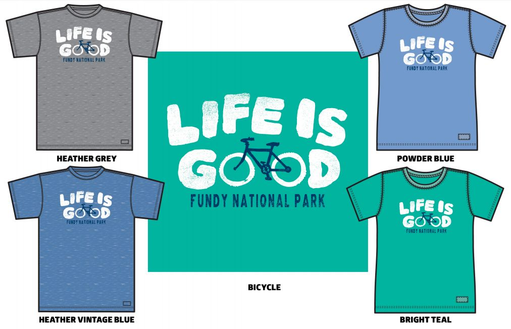 Life is Good W Namedrop Bicycle