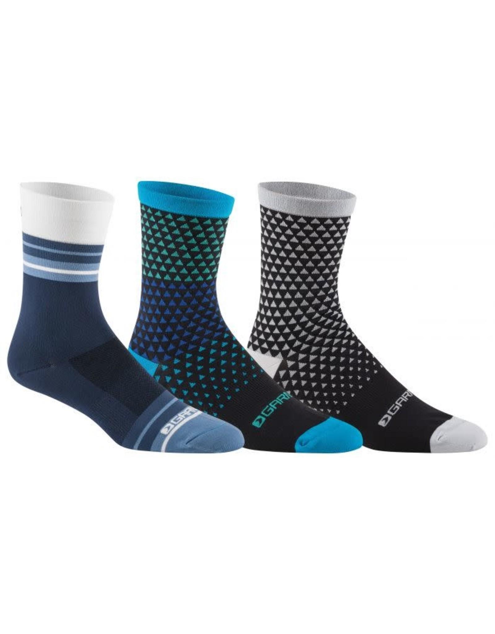 Garneau GARNEAU M Conti Long Socks (3-Pack) S19