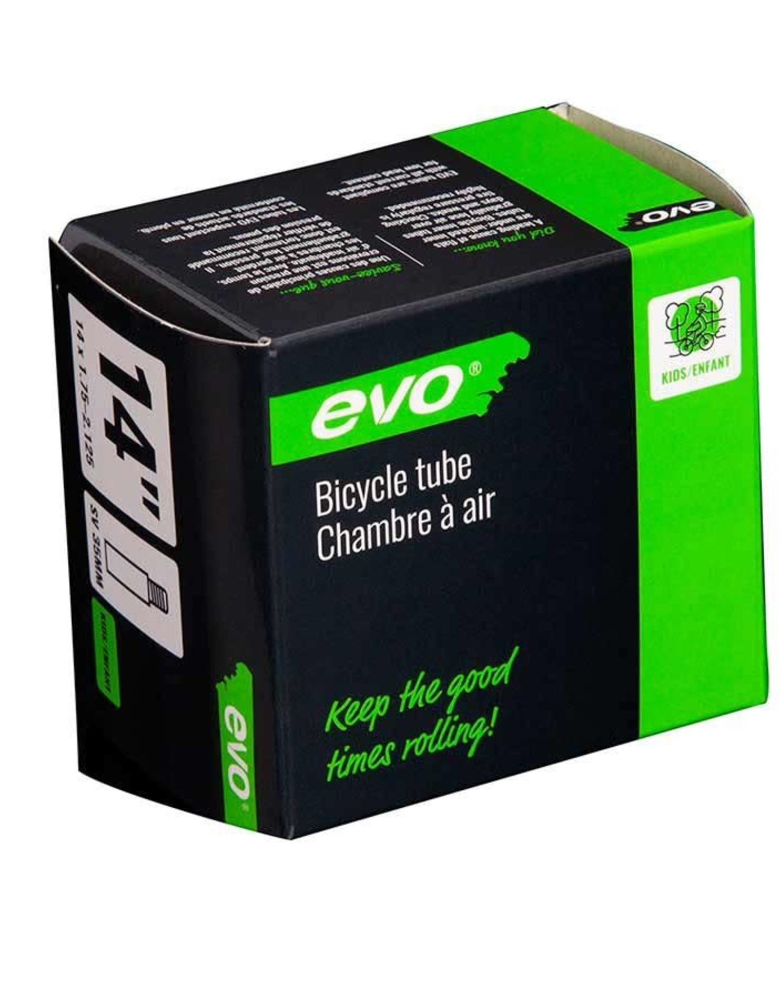 EVO EVO Schrader Tube 35mm S19